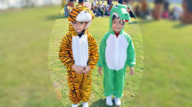 Jungle Party - Class Nursery To UKG On 30-Dec-2016