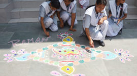 Rangoli Making Competition August 2017