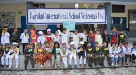 Gurukul International School Haldwani organized Fancy Dress Competition for Nursery, LKG and UKG. The students participated in the competition as a National Heroes, Freedom Fighters and Social Workers. The Show was of great success.