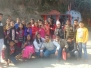 A group of students went on an educational trip to Jim Corbett Park Ramnagar. They have many activities during Camp.