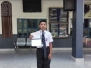 Rahul Bhakuni of class VII(B) received Rs. 5,000 as a Cash Prize and Rs. 21,000 worth coupons for his outstanding performance in Global Olympiad awarded by Global Olympiad Federation, Gurukul family congratulates him for this achievement.