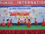 Gurukul International School organized Grand Parents Day with great pump and show with objective to teach the students the role of grand parents and to bestow respect and honor to them. All the parents and children ought to know the value of grand parents and elderly persons that in their old age they need love and care. They ought to be treated with all humility and kindness.