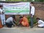 Gurukul International School Haldwani & Canara Bank Haldwani jointly planted 100 trees on 24-07-17.