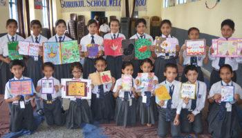 Happy Diwali Card Making Activity Held On 26 Sep, 2017